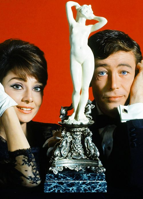 Audrey Hepburn and Peter O'Toole for How to Steal a Million, 1966