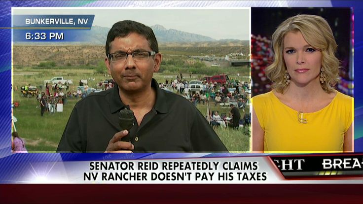 Who's the Real Crook?': D'Souza Takes on Reid's Harsh Rhetoric on Bundys