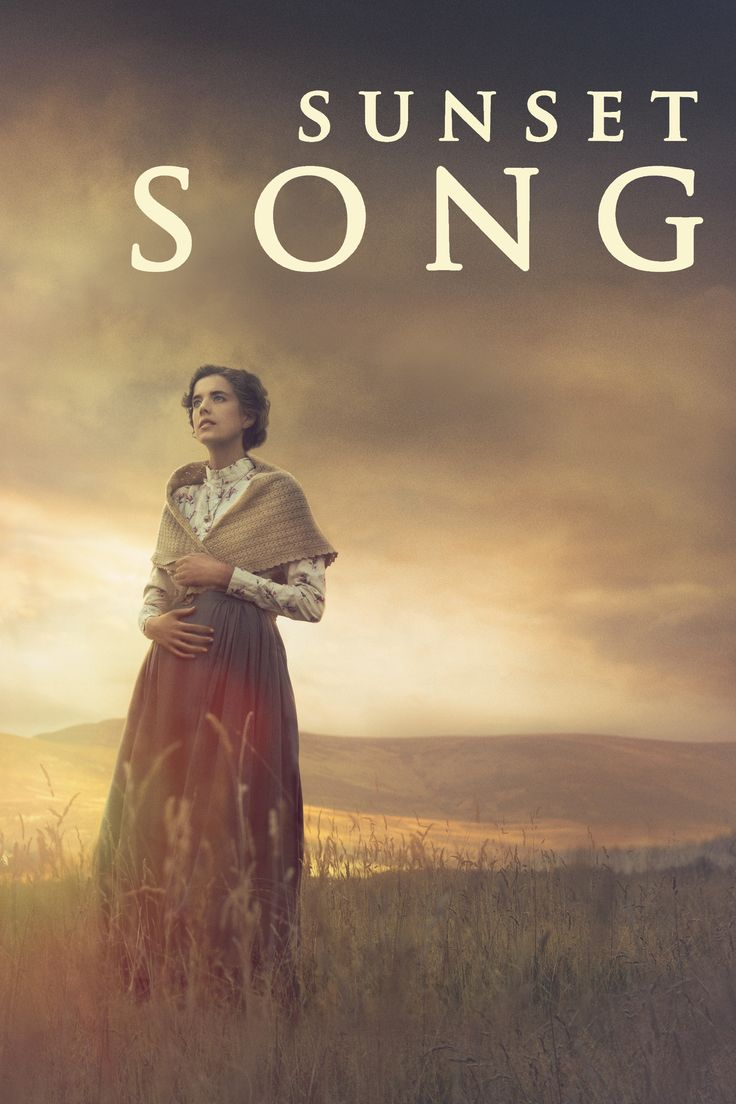 Sunset Song Movie Poster - Agyness Deyn, Peter Mullan, Kevin Guthrie  #SunsetSong, #AgynessDeyn, #PeterMullan, #KevinGuthrie, #TerenceDavies, #Drama, #Art, #Film, #Movie, #Poster
