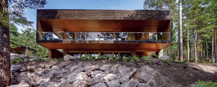 Modern wooden house Plusvilla | Honkatalot