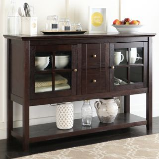 The added height and style of this console table makes it a perfect fit for any room in your house, whether it be for entertaining, dining, or decorative purposes. Crafted from high-grade MDF, this st