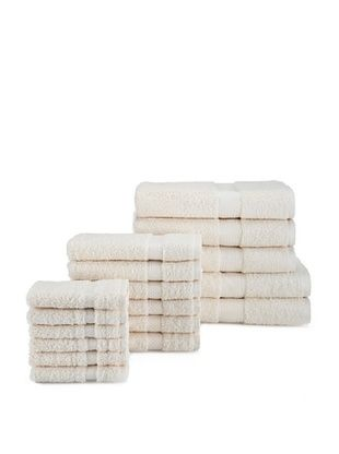 65% OFF Chortex Rhapsody Royale 17-Piece Towel Set, Oyster