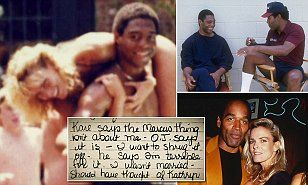 CONFIRMED: Nicole Brown Simpson DID have affair with OJ's best friend Marcus Allen and detailed it in her diary - and Simpson 'threatened to kill his wife if she saw him again one month before her death'  | Daily Mail Online