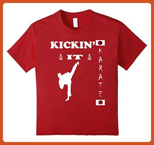 Kids Martial Arts Supplies Karate Sparring Gear 10 Cranberry - Sports shirts (*Partner-Link)