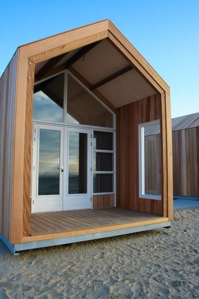 NEU! Strandhuysjes Katwijk Strandhäuser (mit Bildern