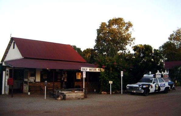 To get rough and rowdy, begin your Aussie pub experience at theDaly Waters Pub. Built in 1930, listen to the rain upon the corrugated iron roof as you sift through the decades of Australian memorabilia crammed into this pub. With the aim to provide customers with a 'fair-dinkum Aussie experience', the Daly Waters Pub is situated 600 kilometers south of Darwin and 1000 kilometers north of Alice Springs off the Stuart Highway, so if you make it there, you'll definitely be busting for a beer…