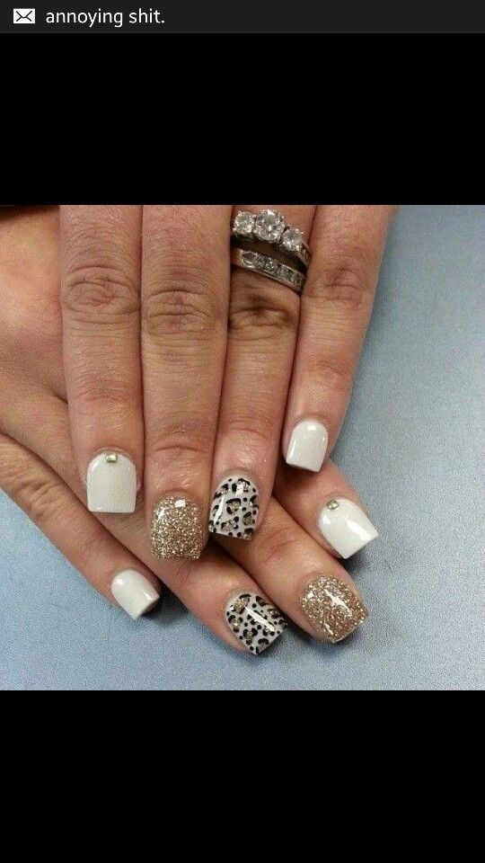 White Gold leopard