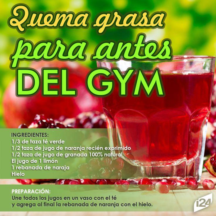 Ahorrate mucho trabajo y bebe esto antes de ir al Gym #Bebidad #Gym #Salud #ejercicios