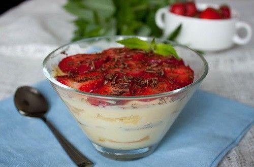 5 простых десертов с сыром маскарпоне / Простые рецепты