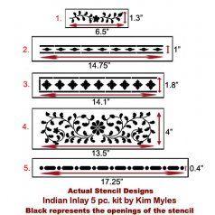 999-Indian-inlay-stencil-kit