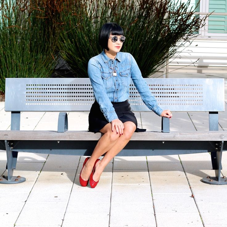 Ruby Red Patent Leather Ballet Flats | Tieks