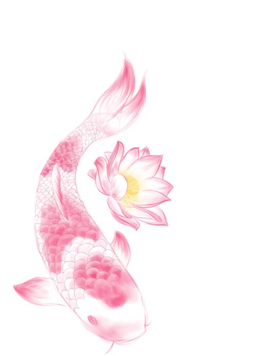 Seriously thinking about getting a koi almost identical to this tattooed on my side