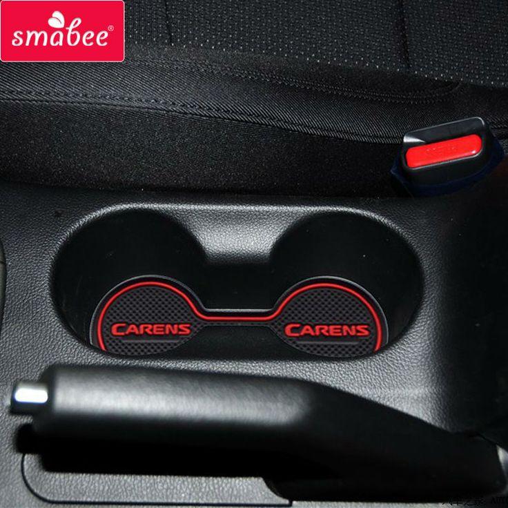 Automotive interior decoration part for KIA Rondo Carens accessory Rubber non-slip mats Interior door pad/cup mats,Car styling