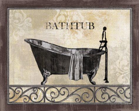 Bath Silhouette Ii Arte Na Allposters Br