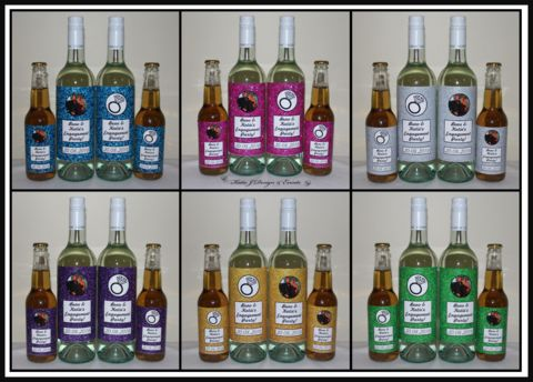 #Katie #J #Design #And #Events #Engagement #Engaged #Party #Night #Personalised #Wine #Bottle #Labels #Gifts #Presents