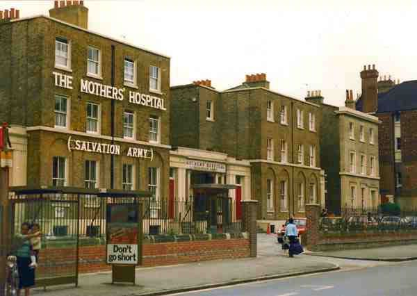 The Mother's Hospital, Clapton Road. Demolished in 1986