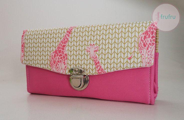 DAMEN BRIEFTASCHE, süße Brieftasche, notwendige Clutch Wallet, elegante Brieftasche, Weihnachtsgeschenk, handgemachtes Geschenk für Frauen, Giraffe Brieftasche