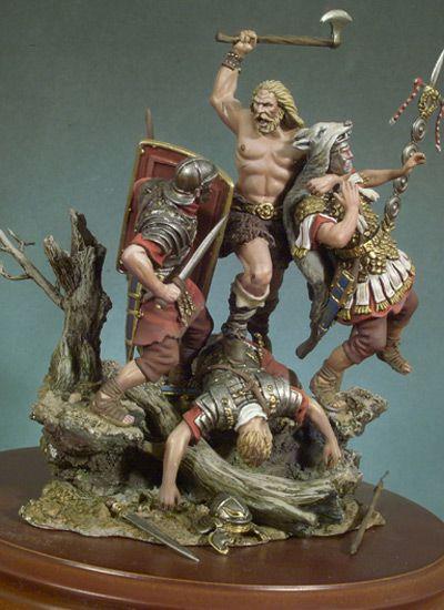 ¡Llegan los Bárbaros! (180 D.C.) SG-S13 54 mm 1/32 | Serie General | Miniaturas Andrea | Andrea Europe