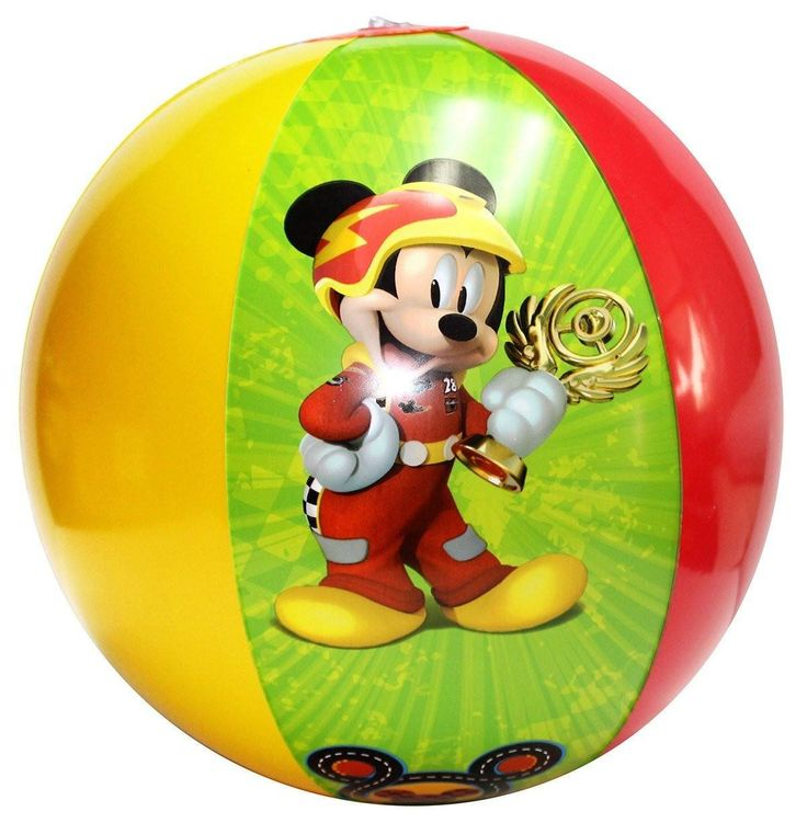 Kids Disney Mickey Mouse & Friends Inflatable Beach Ball