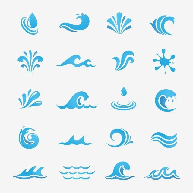Water Wave Icon Vector Water Icons Wave Icons Wave Png And Vector With Transparent Background For Free Download In 2020 Waves Icon Water Icon Water Waves