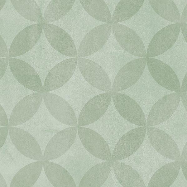 Tarkett Aquarelle Design Vatrumsgolv Circle Flower Grey 2455 4010