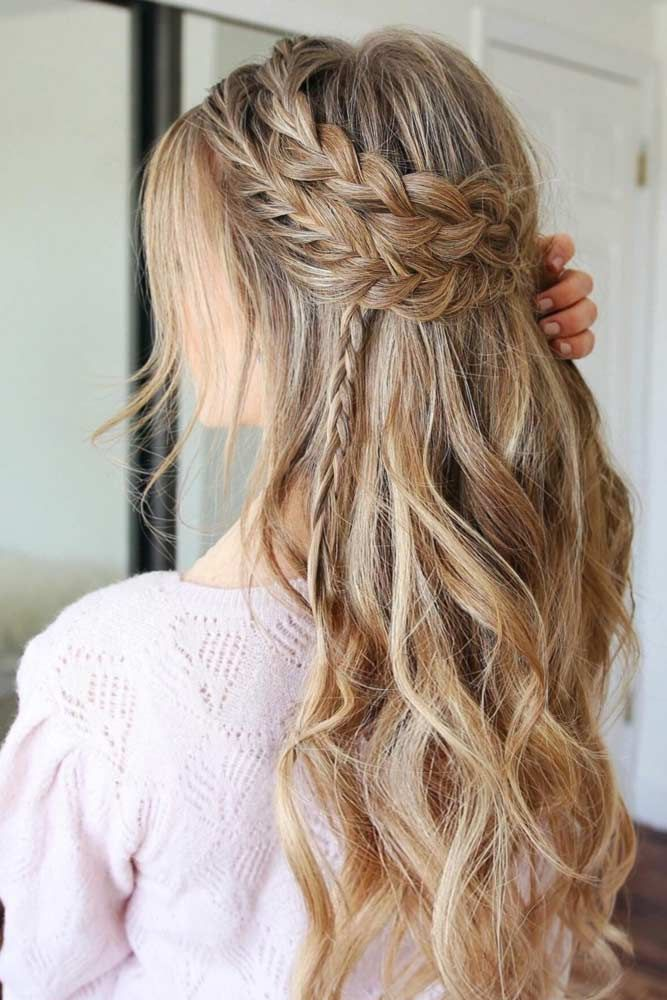 27 Perfect Prom Hair Styles For Short Medium And Long Hair Hair Styles Prom Hairstyles For Long Hair Romantic Hairstyles