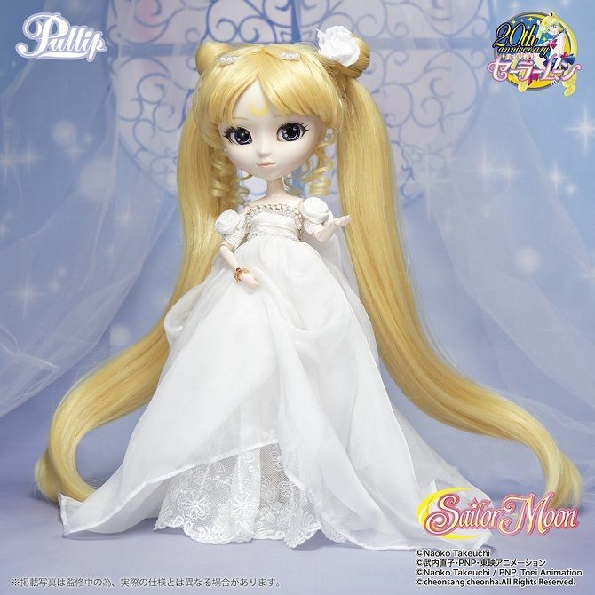 A Princess Serenity Pullip doll is announced! This marks the fourth in the Sailor Moon x Pullip product line. Stay tuned for updates!