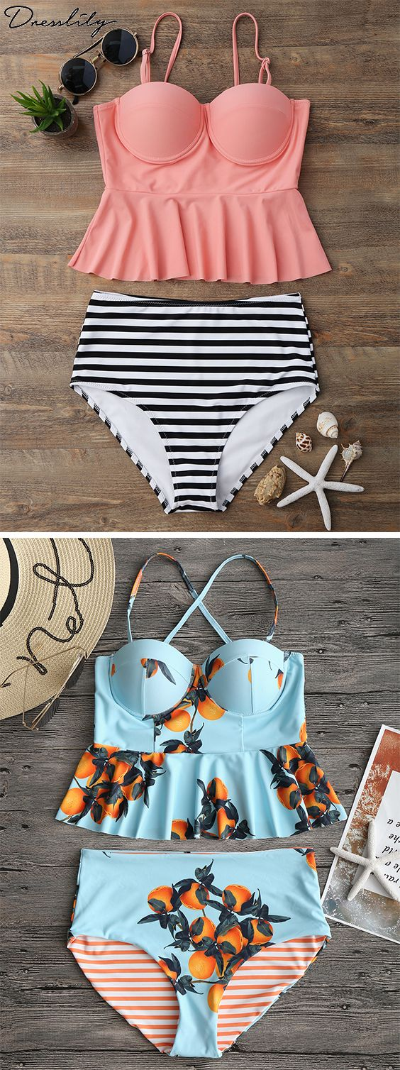 Buy New Swimwear,Shop the Latest Womens Bathing Suits, Swimsuits, & Bikinis Online at Dresslily.com. FREE SHIPPING WORLDWIDE!#swimwear#swimsuit