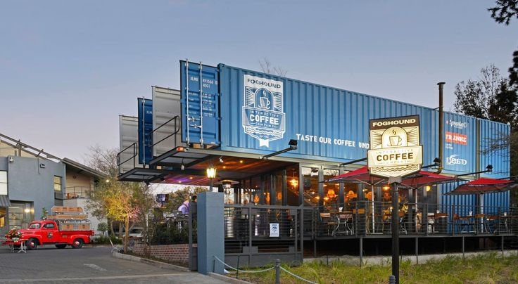 Best 25 shipping container cafe ideas on pinterest for Architectural design companies in johannesburg
