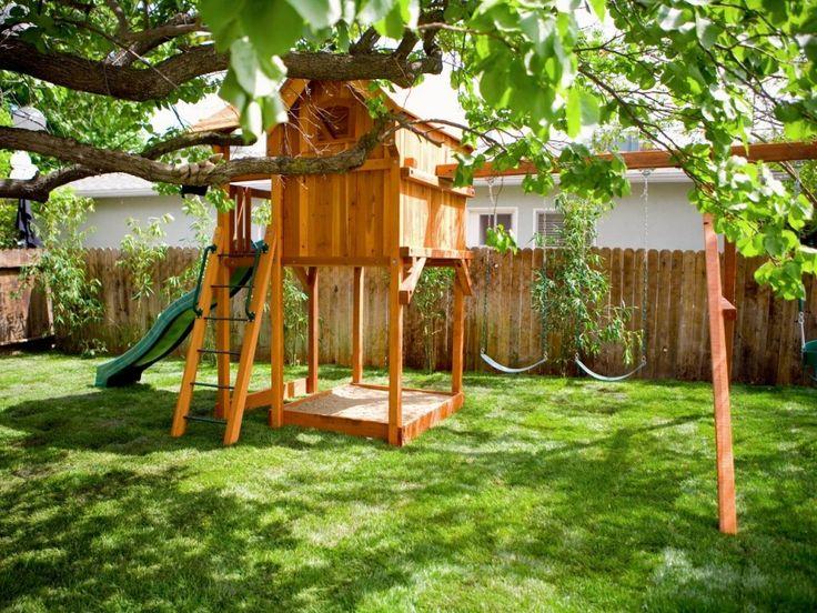 Backyard Swings For Kids Pertaining To Backyard Playground Kids