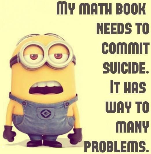 Math Quotes Funny Minion: 17 Best Images About FILMS - MINIONS On Pinterest
