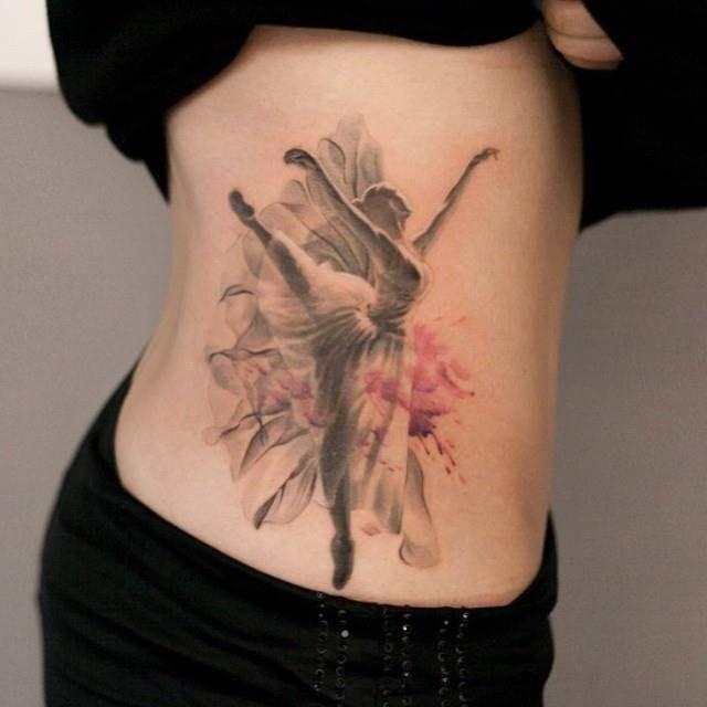 Bailarina Sombreada