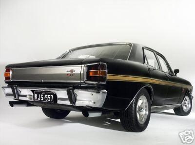 Bill Bourke 428 XW GT special