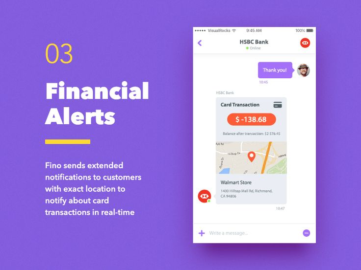 Fino Finance Messenger — Transaction Notifications
