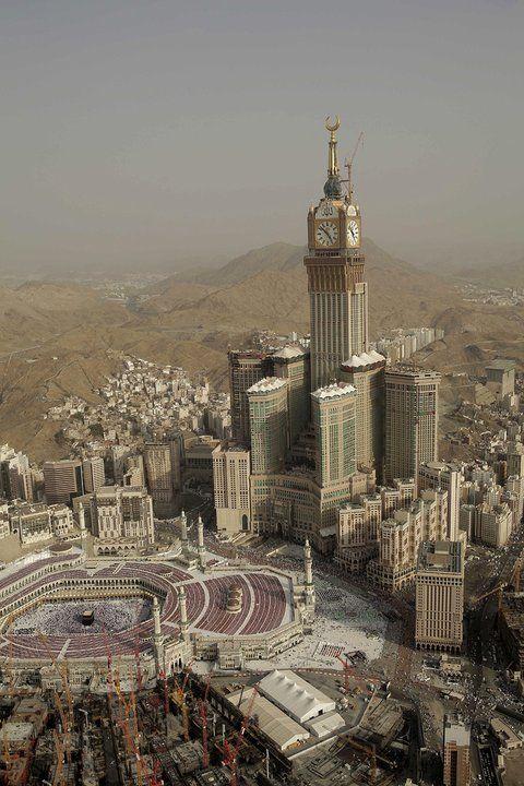 Arabia Saudyjska - Makkah Royal Clock Tower Hotel - drugi najwyższy budynek świata
