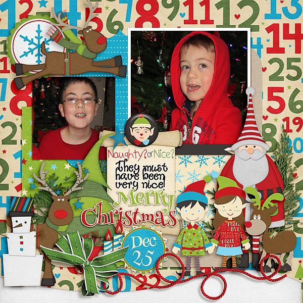 Love these guys!  :)  It was so much fun to have them here for Christmas last year!   Well, it's new BUFFET time at Gingerscraps!!  I used JoCee-Elf Me Kit: http://store.gingerscraps.net/Elf-Me-Basic-Kit-by-JoCee-Designs.html Dagi temptations CandyCane Lane: http://store.gingerscraps.net/Candy-Cane-Lane.html Mag's Graphics Santa Land kit: http://store.gingerscraps.net/Santa-Land-KIT-by-MagsGraphics.html