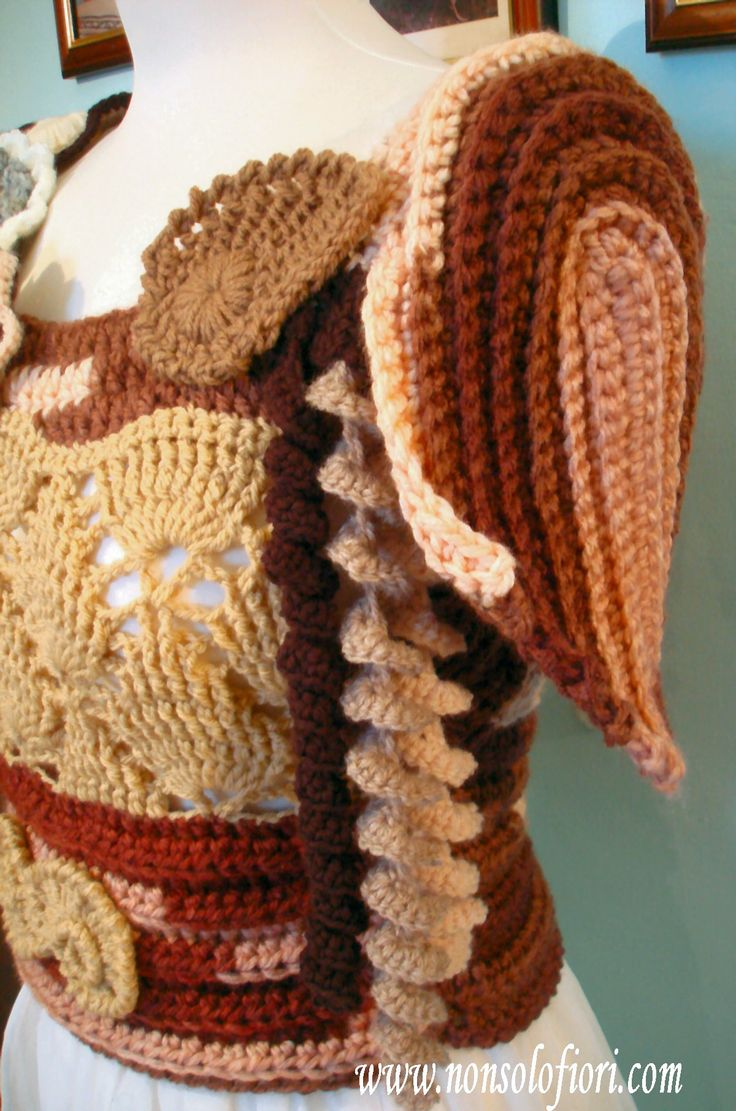 8 besten Borse, abiti - Freeform crochet Bilder auf Pinterest | Häkeln