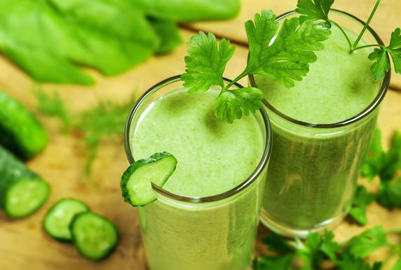 Groene Smoothie recepten met heel veel groentes