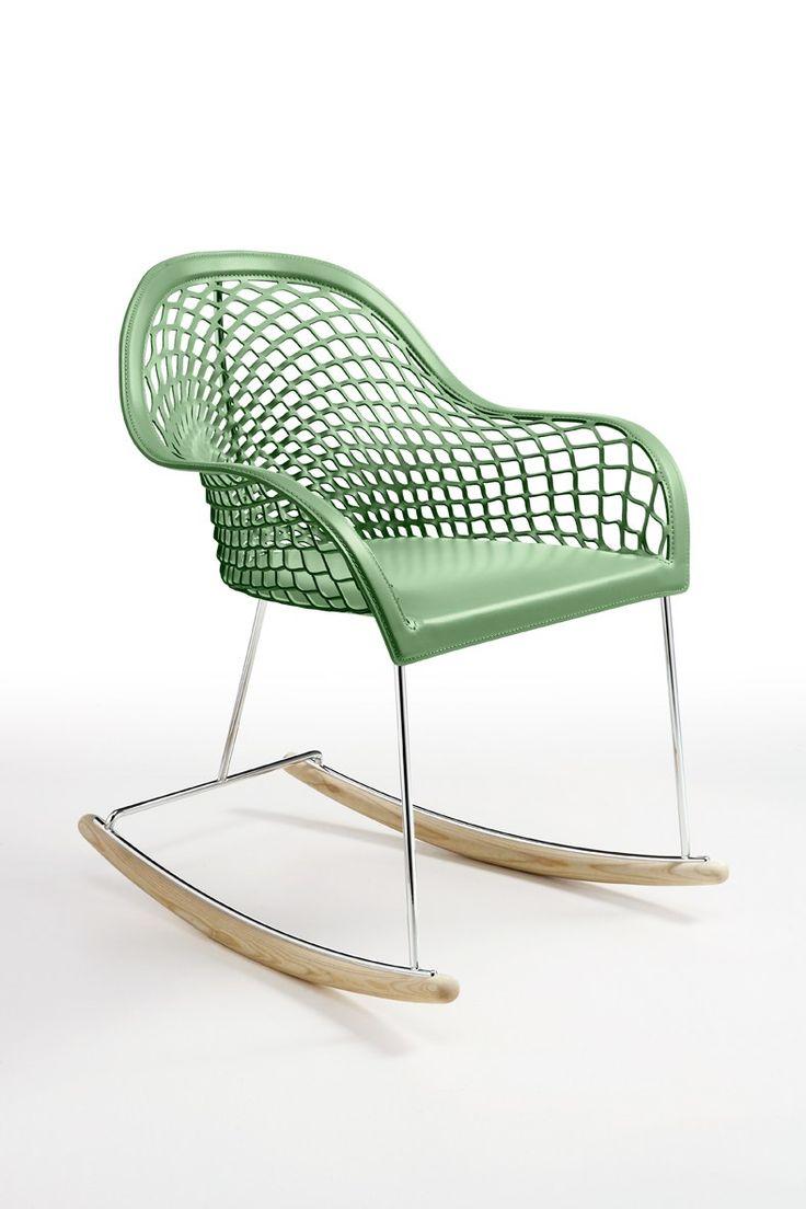 Contemporary style chair Guapa Dondolo Guapa Collection by @midjinitaly  | design Sempere