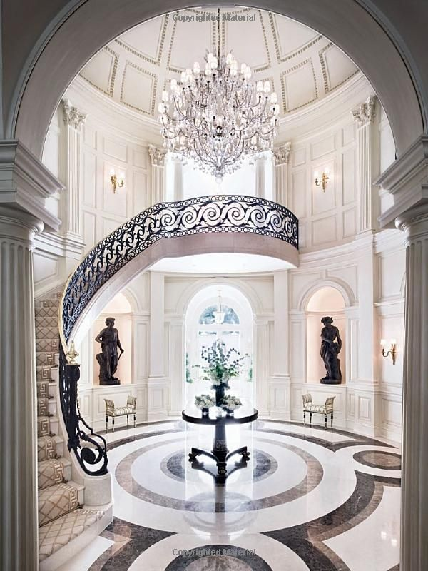 New Orleans Staircase from Alexa Hampton's book The Language of Interior Design, image courtesy of amazon.com
