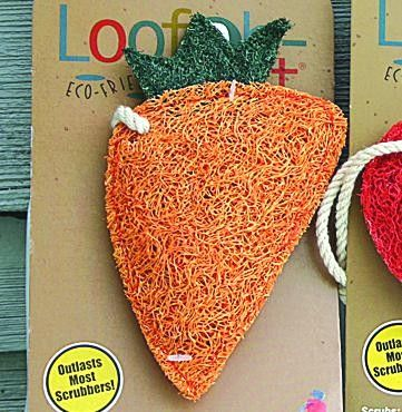 Awesome luffa kitchen scrubber. Biodegradable and natural!