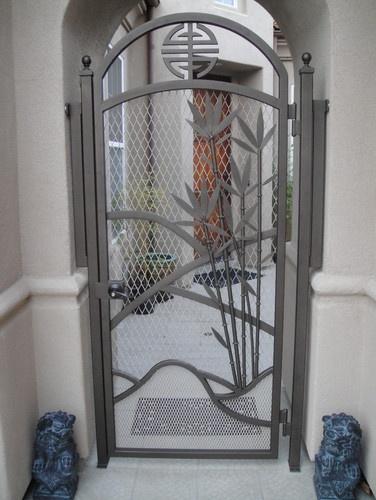 Chung Gate - asian - exterior - san francisco - Stair Design / Iron Design