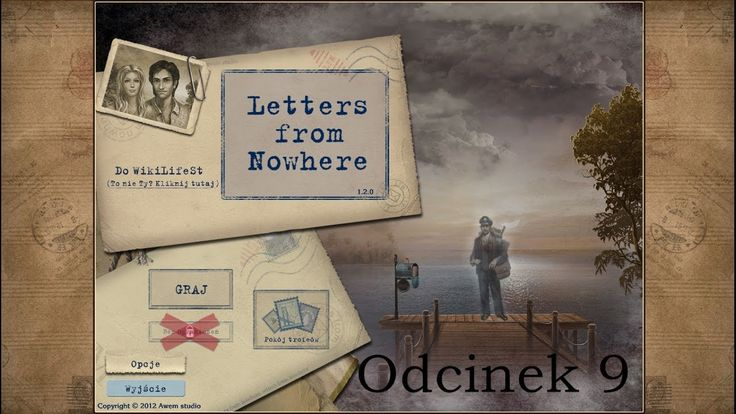 Let's Play: Letters from Nowhere- odcinek 9- Złowrogi kwiat