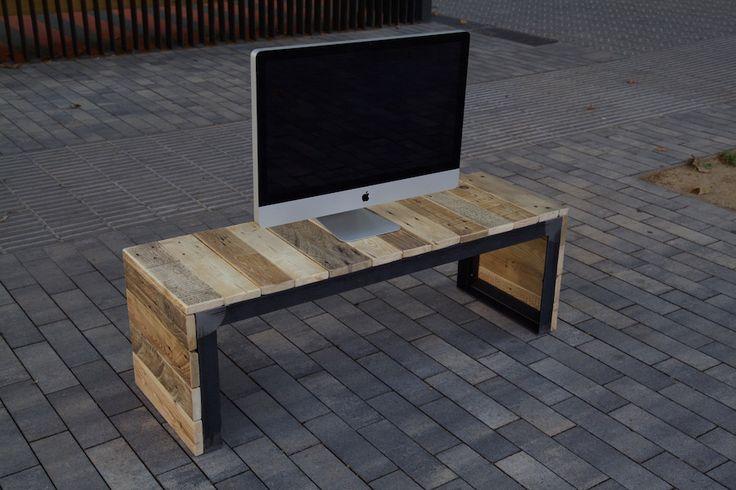 Mueble de tv hecho con palet reciclado tv table made with recycled pallet - Palet reciclado muebles ...