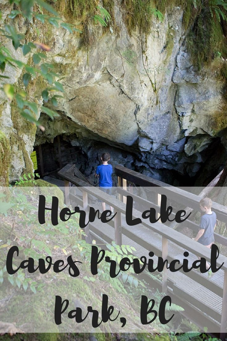 Looking for a unique experience on Vancouver Island? The Horne Lake Caves are a place you should definitely visit!