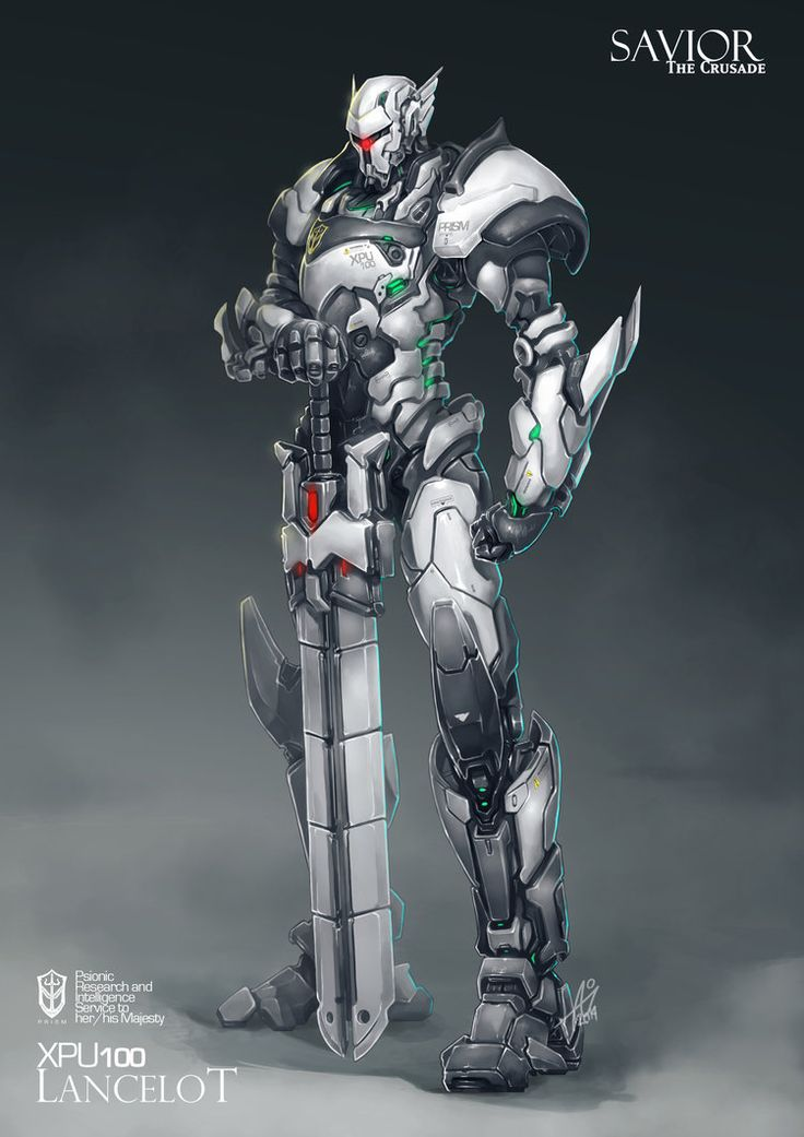 Commission: XPU100 Lancelot by aiyeahhs on deviantART