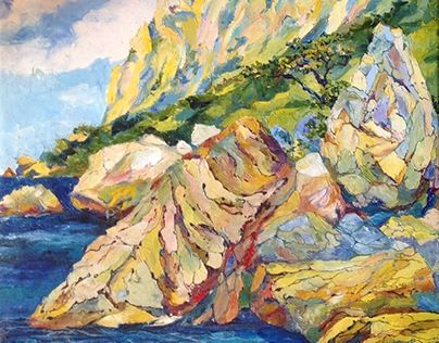 "Check out new work on my @Behance portfolio: ""Balaclava.  Kush-Kaya Mountain"" http://be.net/gallery/48237223/Balaclava-Kush-Kaya-Mountain"