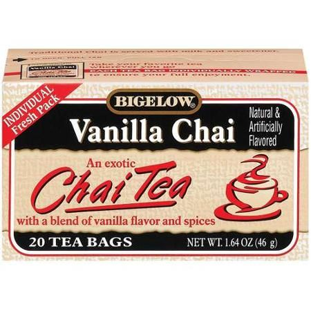 BLACK TEA, SPICES, NATURAL AND ARTIFICIAL FLAVORS (SOY LECITHIN). - Walmart.com