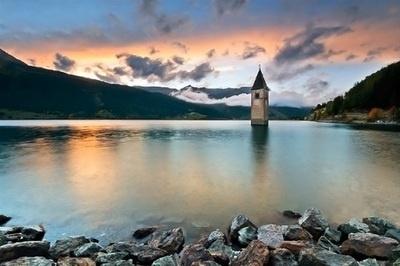 Reschensee, Italy.