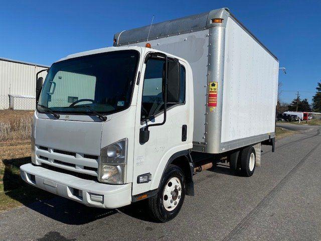 2012 Isuzu Npr Cab Over 14ft Box Truck With Liftgate Cab Over Trucks Vehicles